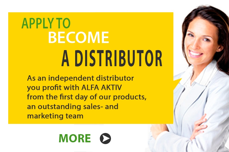 Apply to become a distributor